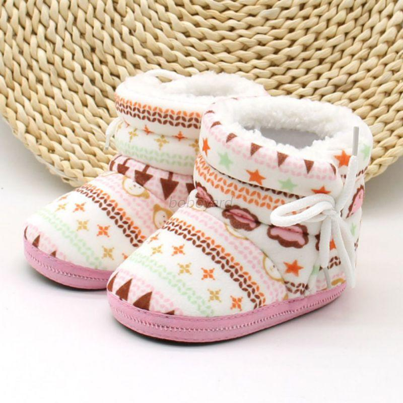Winter-Toddler-Baby-Boy-Girl-Warm-Snow-Boots-Infant-Soft-Sole-Slipper-Crib-Boot