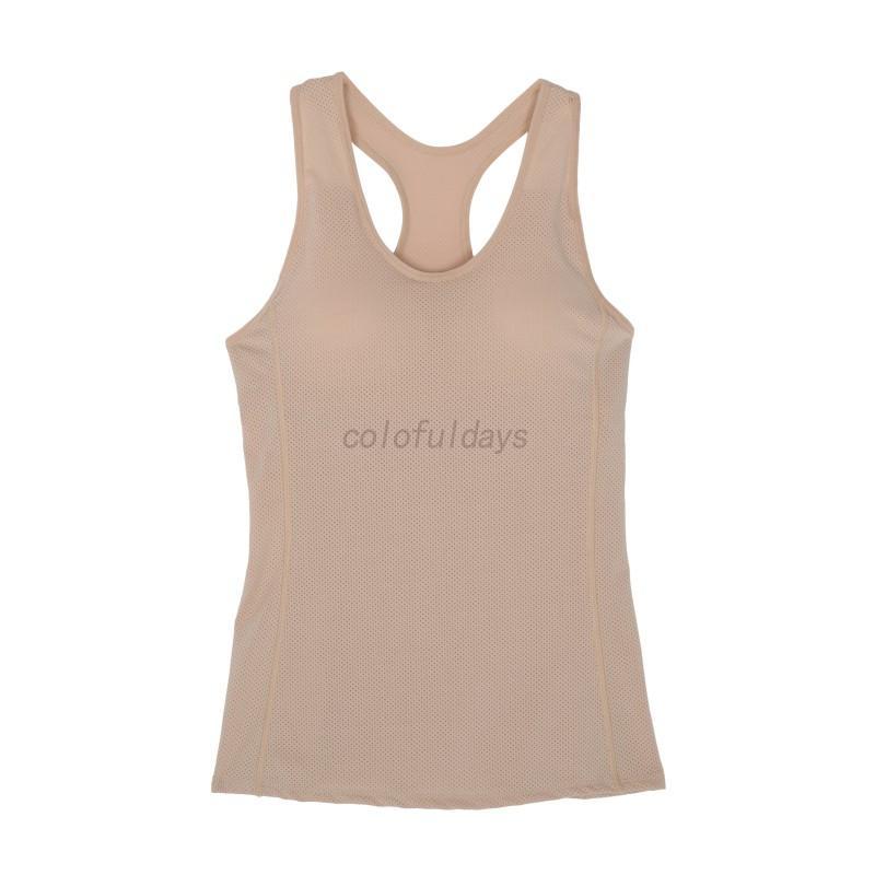 Women-Kid-Girl-Sport-Solid-Color-Sleeveless-Top-Fitness-Bra-Sport-Padded-Vest-AU