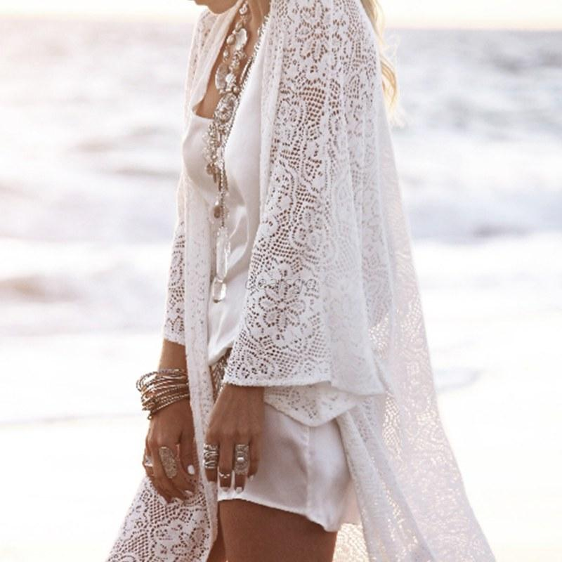 Womens-Boho-Lace-Floral-Crochet-Cardigan-Coat-Kimono-Tops-Beach-Bikini-Cover-Up