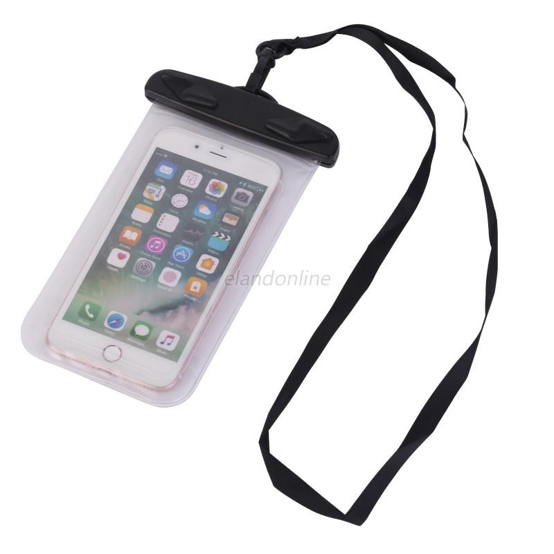 for mobile phone water sports waterproof phone case dry pouch bag with lanyard ebay. Black Bedroom Furniture Sets. Home Design Ideas