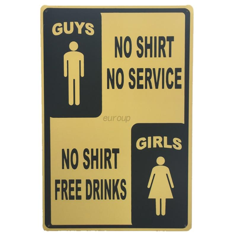 Retro Metal Sign Tin Poster Plaque Bar Pub Club Cafe Home Plate Wall ...