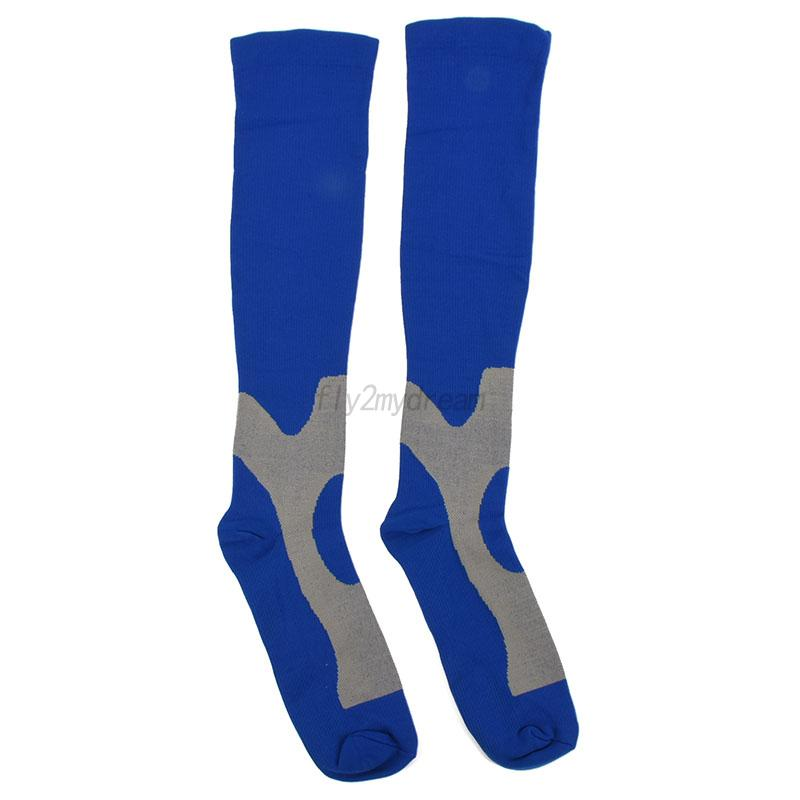 Men-Women-Leg-Support-Stretch-Compression-Sports-Socks-Football-Long-Stockings