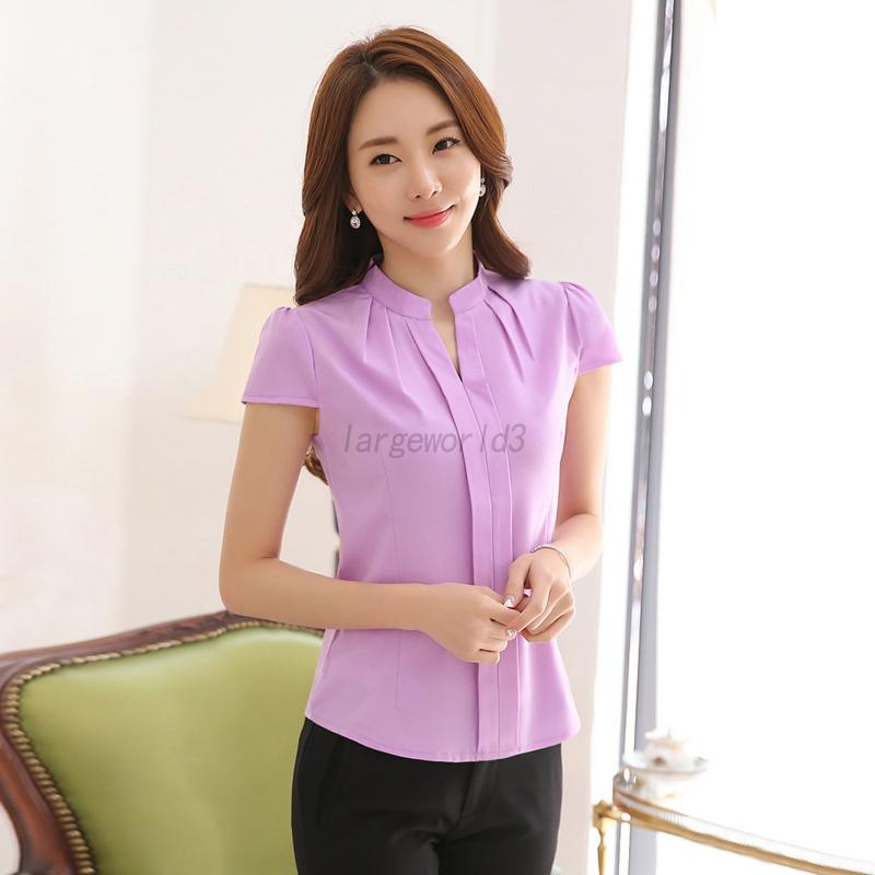 Women Office Uniform OL Work Wear Ladies Formal Cotton ...